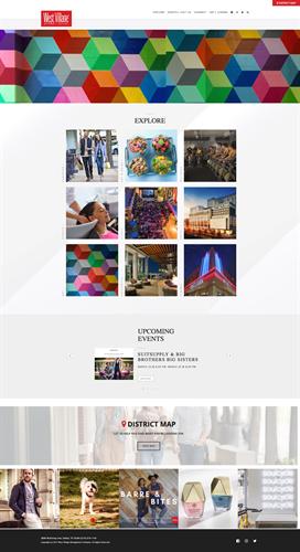 Web Design & Development - West Village Dallas https://westvillagedallas.com
