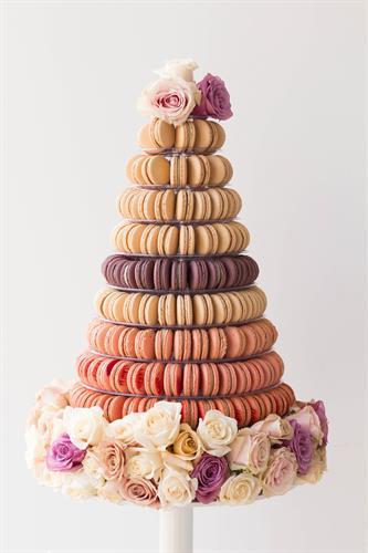 Tower of 220 Macarons