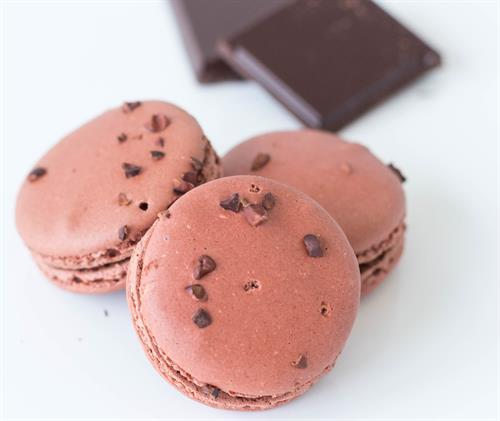 Caribbean Chocolate Macaron