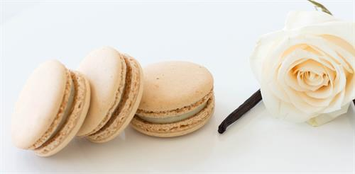 Madagascar Vanilla Macaron
