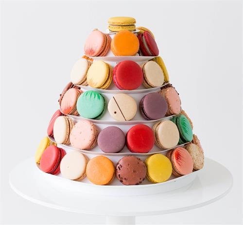Tower of 60 Macarons