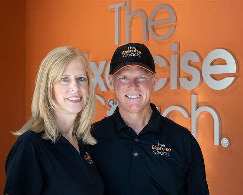 The Exercise Coach - Southlake, owners Andrea & Mike Sims
