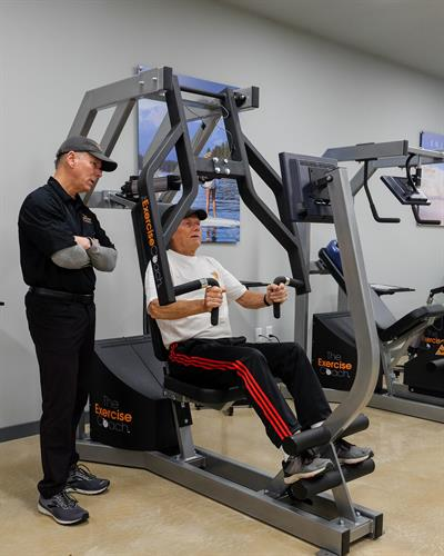 The Exercise Coach - Exerbotics Row