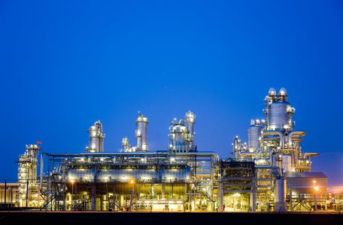 mCloud Connected Industry Oil & Gas Refinery