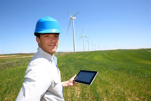 mCloud Connected Wind-Engineer with Turbine Data