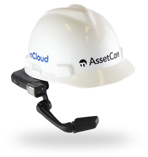 mCloud Connected Worker AssetCare Realwear Headset