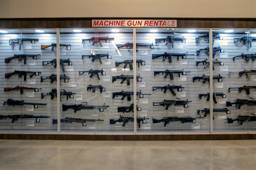 Machine Gun Wall
