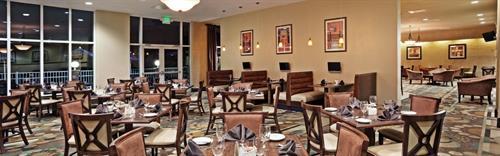 Albergotti Grill dining room