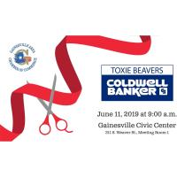 Ribbon Cutting - Toxie Beavers, Agent, Coldwell Banker
