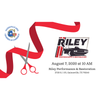 Ribbon Cutting - Riley Performance & Restoration