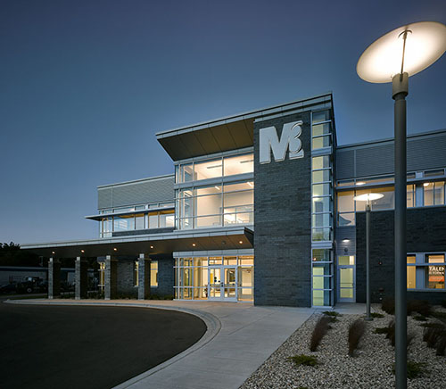 M3 Insurance's new headquarters along the shore of Lake Monona in Madison is a showcase of the company's philosophy, vision and service.