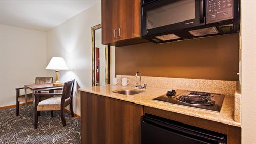 King Suite Kitchenette