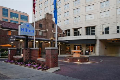 Hilton Madison Monona Terrace Entrace