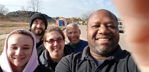 Daytime Project Crew Selfie