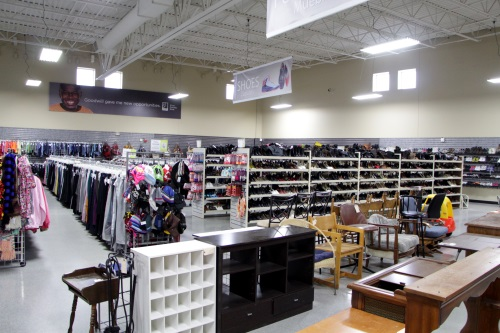 Shopping for clothing? Household items? Chances are Goodwill has what you're looking for.