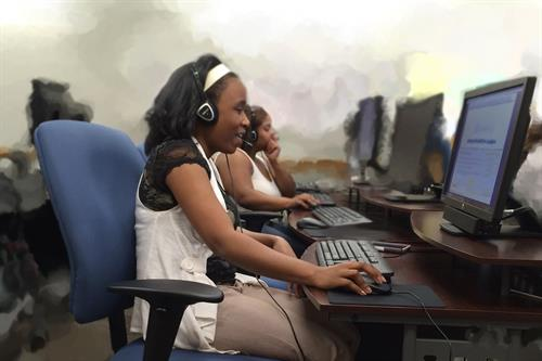 Call Center Training at Aberg Job Center