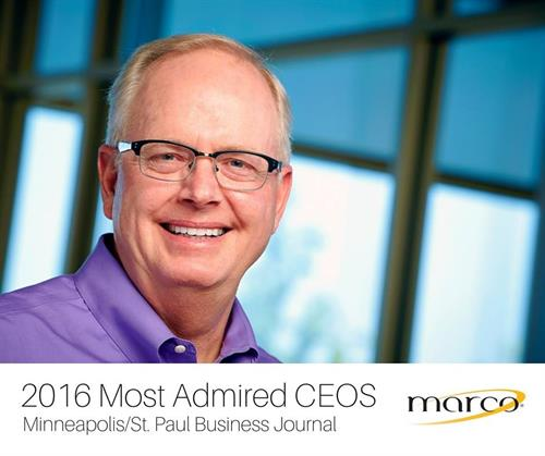 Jeff Gau- Most admired CEO