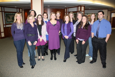 Oak Bank goes Purple to Support Epilepsy Research