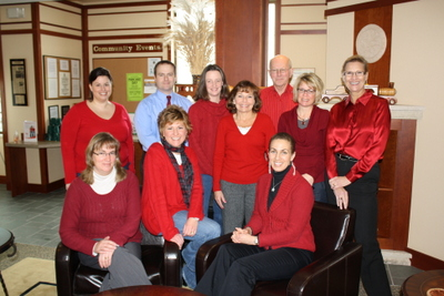 Oak Bank Supports American Heart Association Go Red