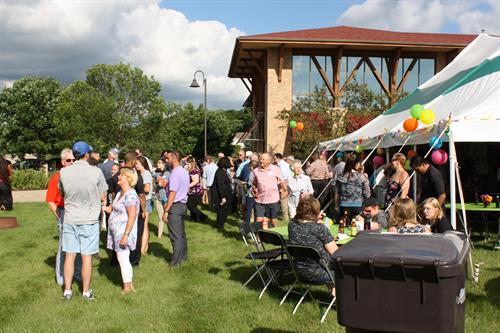 Oak Bank annually hosts the Summer Soiree Business Networking event in July.