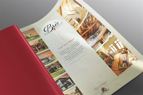 Collateral Design for Brio Design Homes