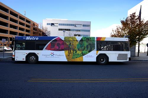 Bus Wrap Design for the City of Madison