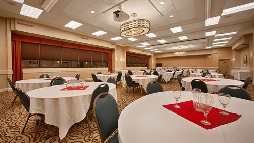 Meeting Space to Accommodate up to 180 people