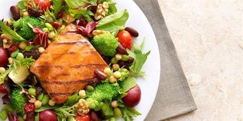 Mighty Wild Salmon Salad