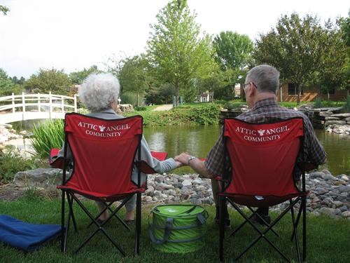 Residents enjoy quality time in a quality place, both inside and out.
