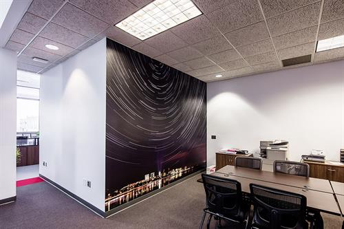 Madison Star Trails Mural