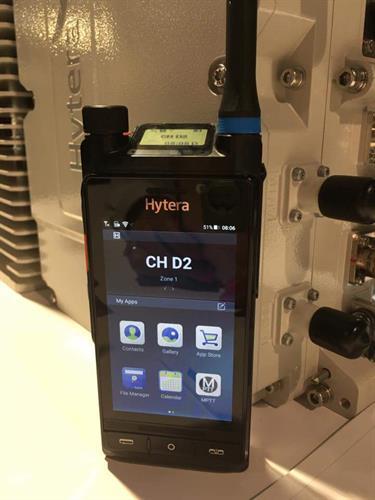 Hytera LTE Portable