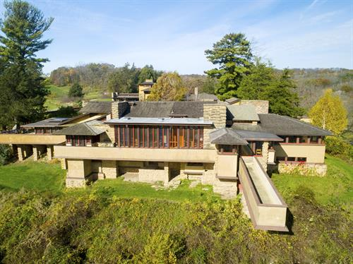 Taliesin, the residence of Frank Lloyd Wright