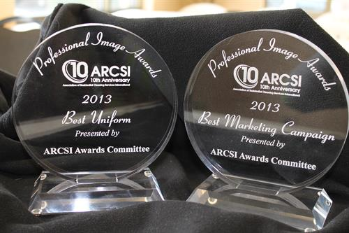 Best Marketing Campaign and Best Uniform ARCSI Professional Awards. Las Vegas 2013
