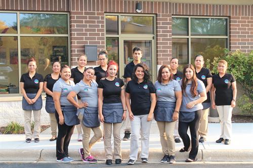 Grakei Maids Owner, Laura Barnard, and her Amazing Staff
