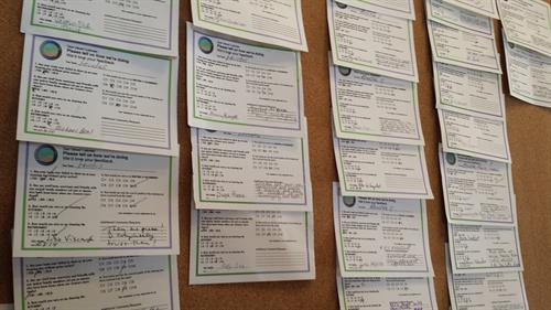 Clients' Feedback Cards