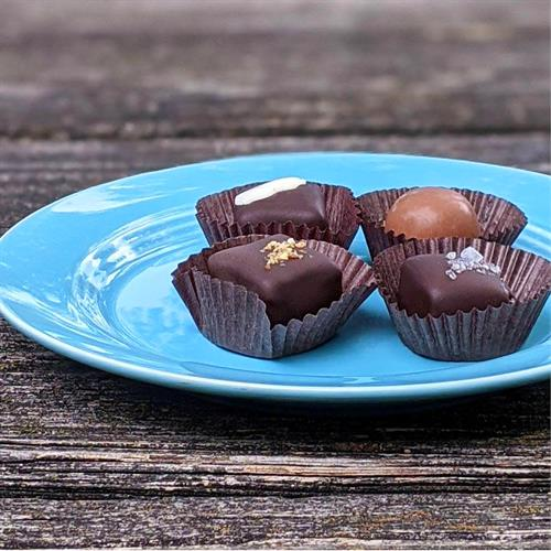 Fine Chocolate Bonbons, Truffles, Caramels