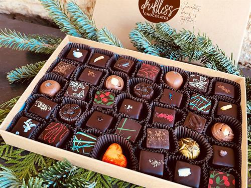 Artisan-created handmade chocolate Truffles and Bonbons. A perfect gift!