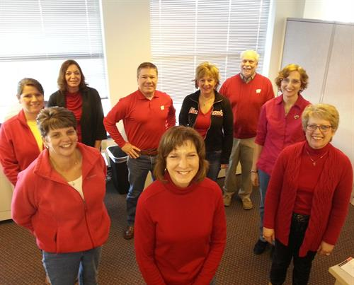 Madison Employees - Wear Red for Health Day