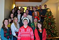 The Neckerman group at our holiday party