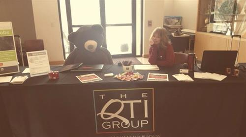 QTI is always visiting job fairs around town! Be sure to visit!