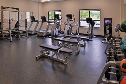 Extensive Fitness Center