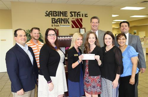 Sabine State Bank was a Gold Sponsor for the President's Command Performance at Northwestern State University