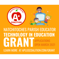 Announcement for the Natchitoches Technology in Education Grant