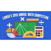 LSMSA's 20th Annual Math Competition is going virtual!