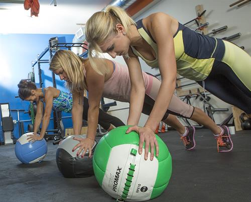 Boot camp classes offer a variety of workouts