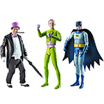 1966 Batman action figures!