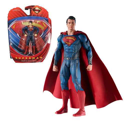 Superman Man of Steel action figures!