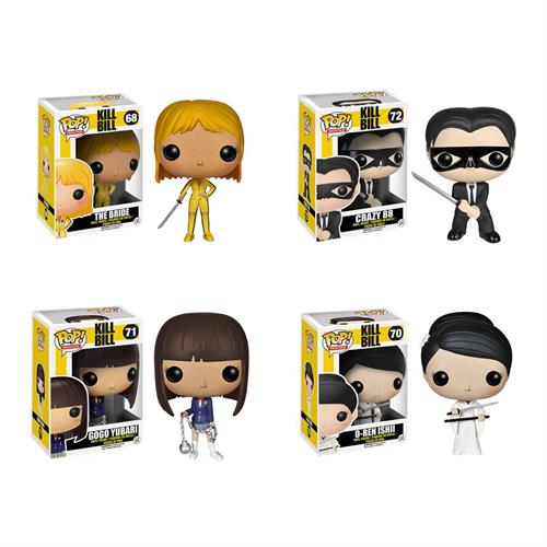 Kill Bill favorites in Funko Pop form!