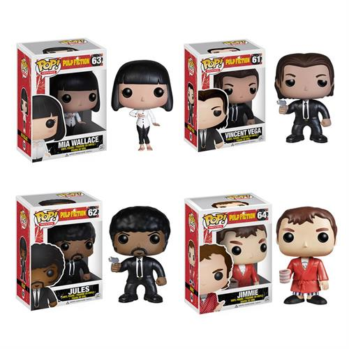 Pulp Fiction favorites by Funko!