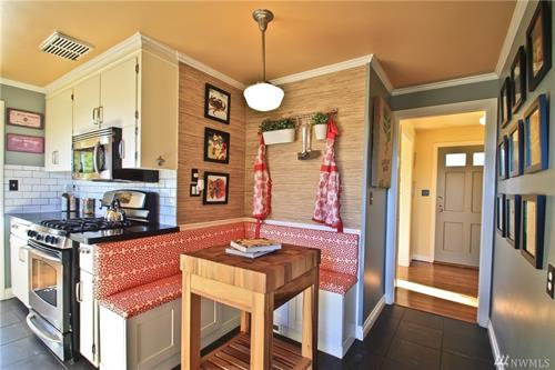 Staging & Photography - Kitchen Nook @ Magnolia (Owner/Agent Decor)